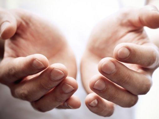 Mãos benditas