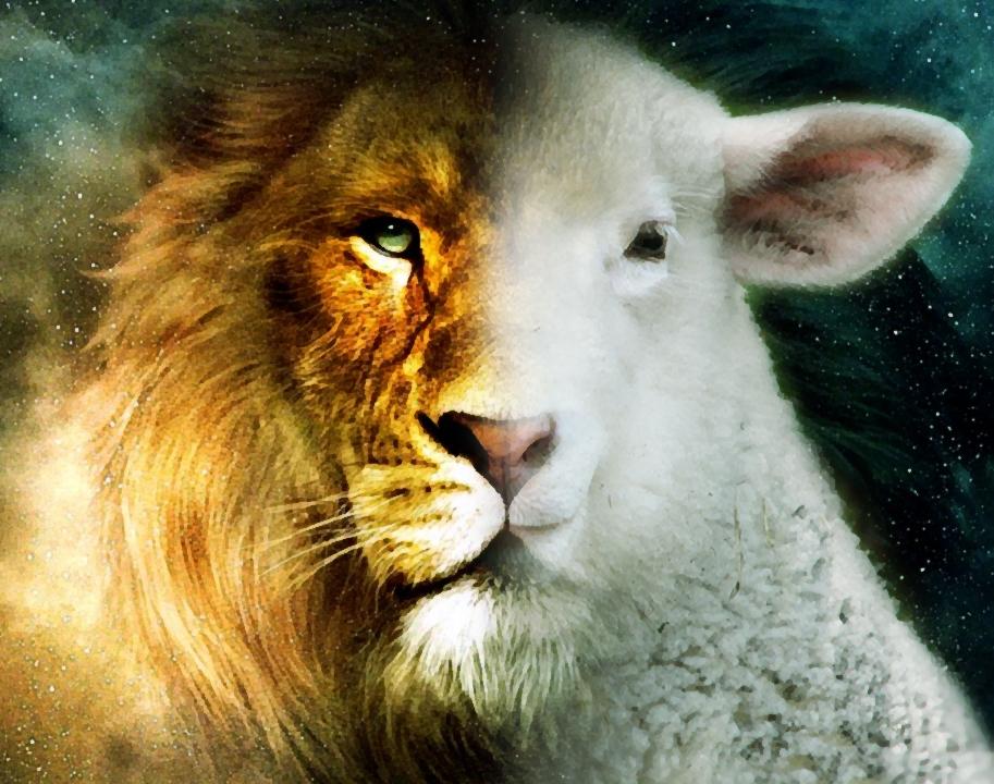O leão e o cordeiro